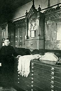 The Priest in the Sacristy